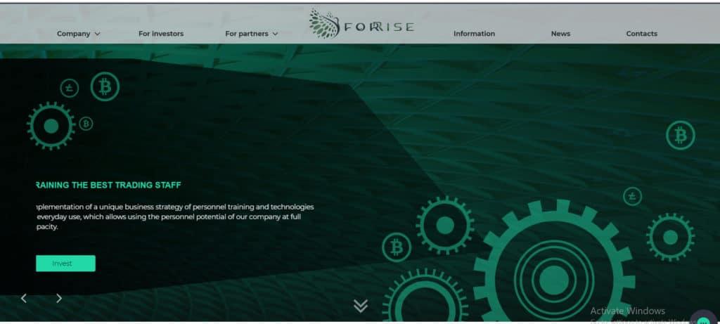forrise reivew hyip 1024x461 - [SCAM] Forrise Review - HYIP: Giới thiệu nền tảng đầu tư dài hạn forrise.com