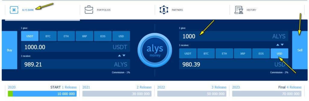 alys token 1 1024x336 - [SCAM] AlysDax Review: Dự án dài hạn lợi nhuận lên tới 30% mỗi tháng