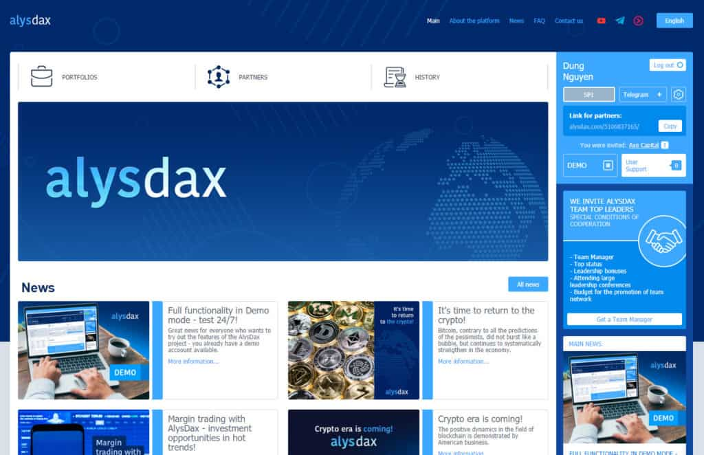 alysdax hyip review 1024x662 - [SCAM] AlysDax Review: Dự án dài hạn lợi nhuận lên tới 30% mỗi tháng
