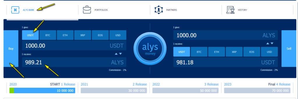 buy alys token 1024x340 - [SCAM] AlysDax Review: Dự án dài hạn lợi nhuận lên tới 30% mỗi tháng