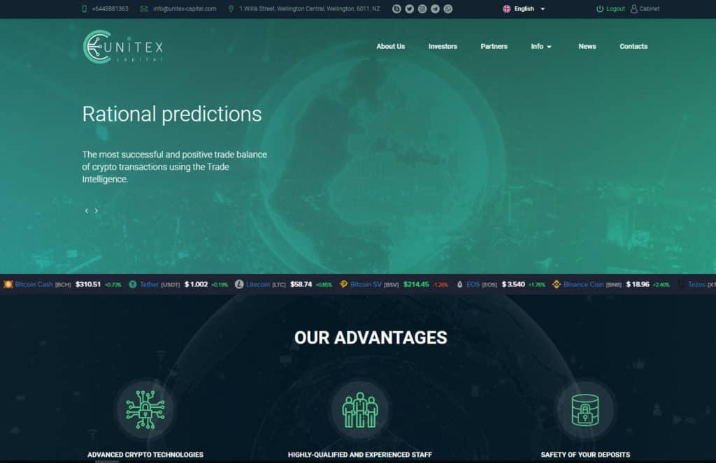 unitex capital hyip review 1024x663 - [SCAM] Unitex Capital Review- HYIP: Dự án đầu tư dài hạn 2020, lợi nhuận 1.3%/ ngày