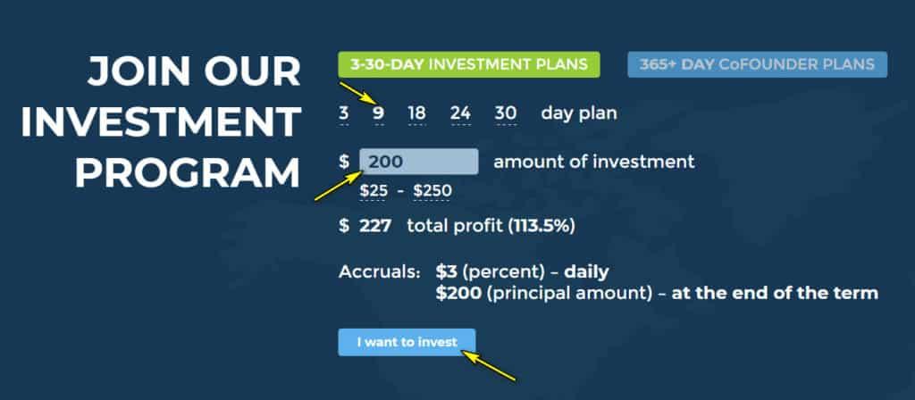hl deposit 1 1024x448 - [SCAM] Hex Land Review - HYIP: Lợi nhuận 1.5% hàng ngày trong 9 ngày, hoàn gốc cuối chu kì
