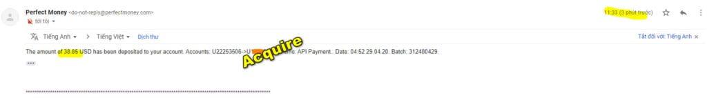 ac payment 1024x142 - [SCAM] Acquire Review - HYIP: Lợi nhuận 3% mỗi ngày làm việc, cho rút vốn sớm!