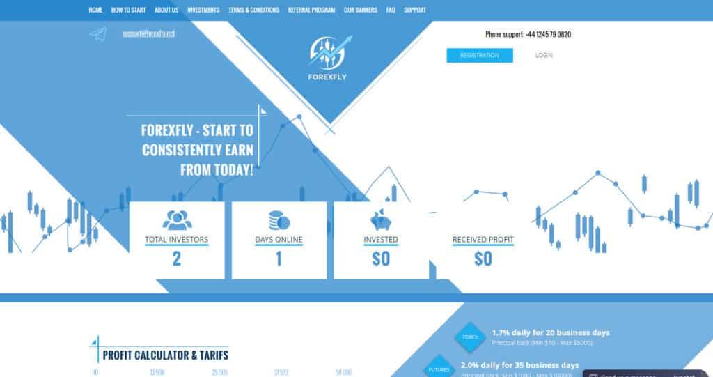 forexfly hyip review 1024x541 - [SCAM] ForexFly Review - HYIP: Lợi nhuận 1.7% hàng ngày trong 20 ngày làm việc!