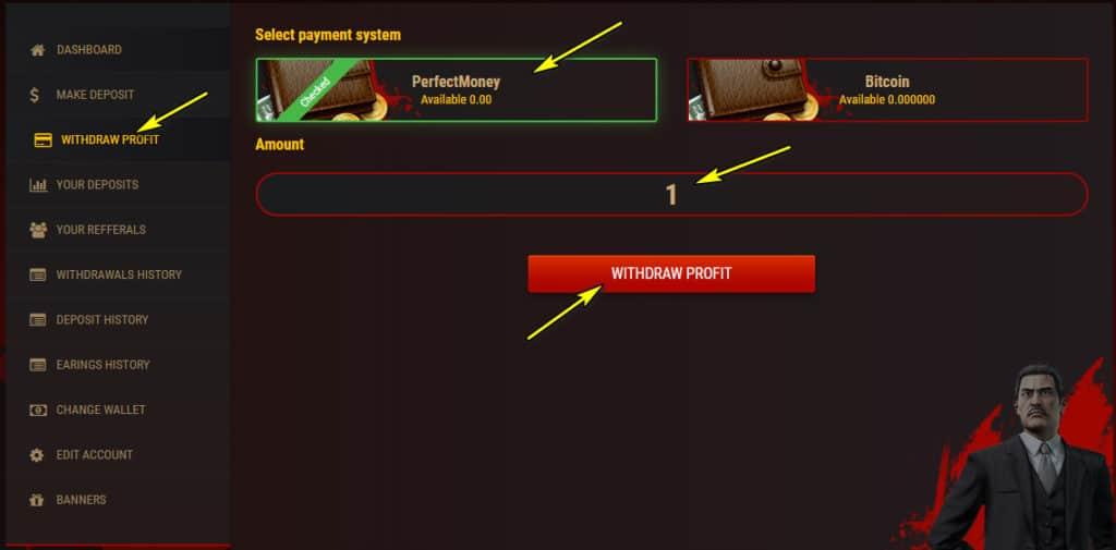 bonnie withdraw 1024x505 - [SCAM] Bonniepays Review - HYIP: Lợi nhuận 1%/ ngày trong 20 ngày làm việc!