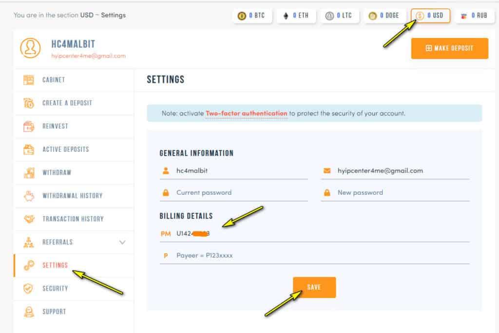 allbittrade add wallet 1024x684 - [SCAM] Allbit Trade Review - HYIP: Lợi nhuận 3.3% mỗi ngày, nhận mãi mãi!