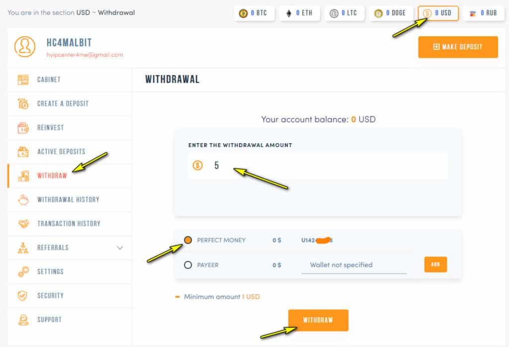 allbittrade withdraw 1024x698 - [SCAM] Allbit Trade Review - HYIP: Lợi nhuận 3.3% mỗi ngày, nhận mãi mãi!