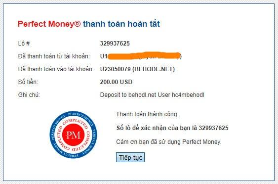 behodl payment proof - [SCAM] Behodl Review - HYIP: Lợi nhuận 2.5%/ ngày trong 3 ngày!