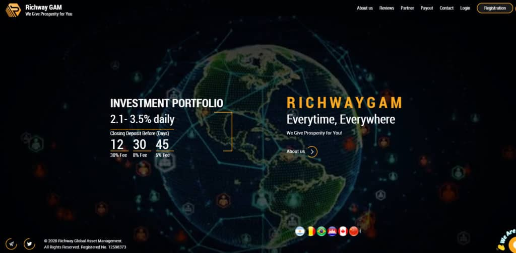 richway gam hyip 1024x503 - [SCAM] Richway GAM Review - HYIP: Lợi nhuận từ 2.1% mỗi ngày, cho rút vốn bất kì!
