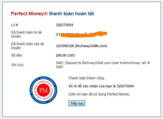 richwaygam payment proof - [SCAM] Richway GAM Review - HYIP: Lợi nhuận từ 2.1% mỗi ngày, cho rút vốn bất kì!