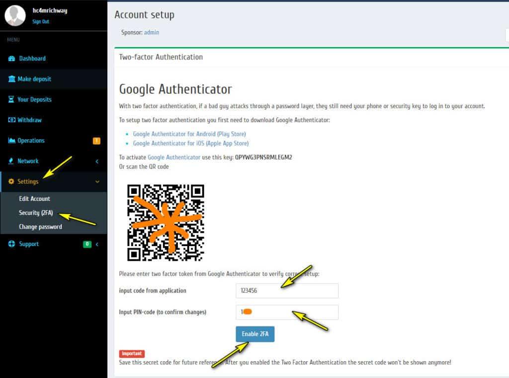 richwaygam security 1024x762 - [SCAM] Richway GAM Review - HYIP: Lợi nhuận từ 2.1% mỗi ngày, cho rút vốn bất kì!