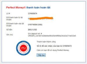 via proof deposit 300x221 - [SCAM - DỪNG ĐẦU TƯ] VIA: Dự án đầu tư hấp dẫn, lợi nhuận lên tới 3%/ ngày!