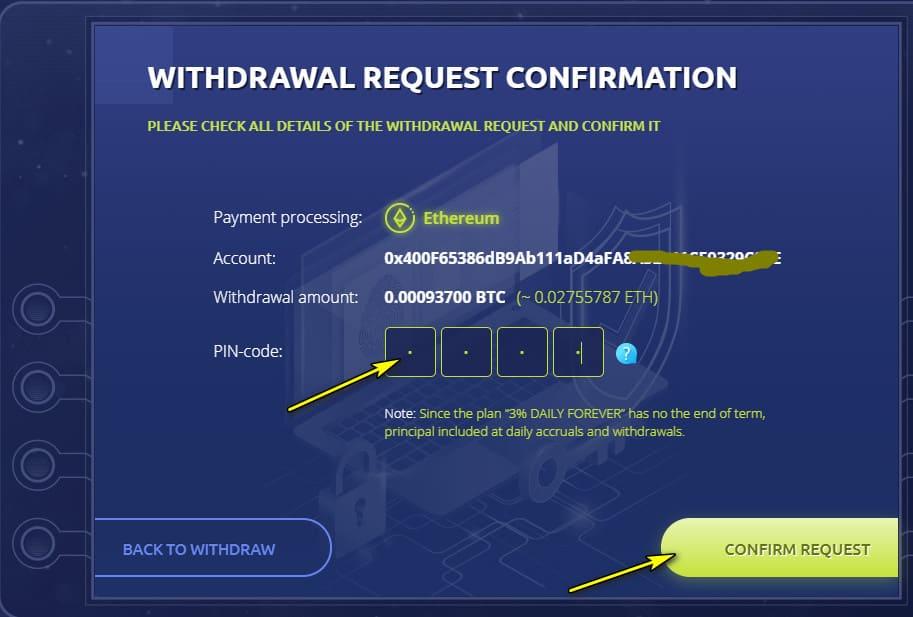 bit atm withdraw 2 - [SCAM] BIT-ATM: Dự án đến từ Quản trị viên uy tín, lợi nhuận 3%/ngày và mãi mãi!