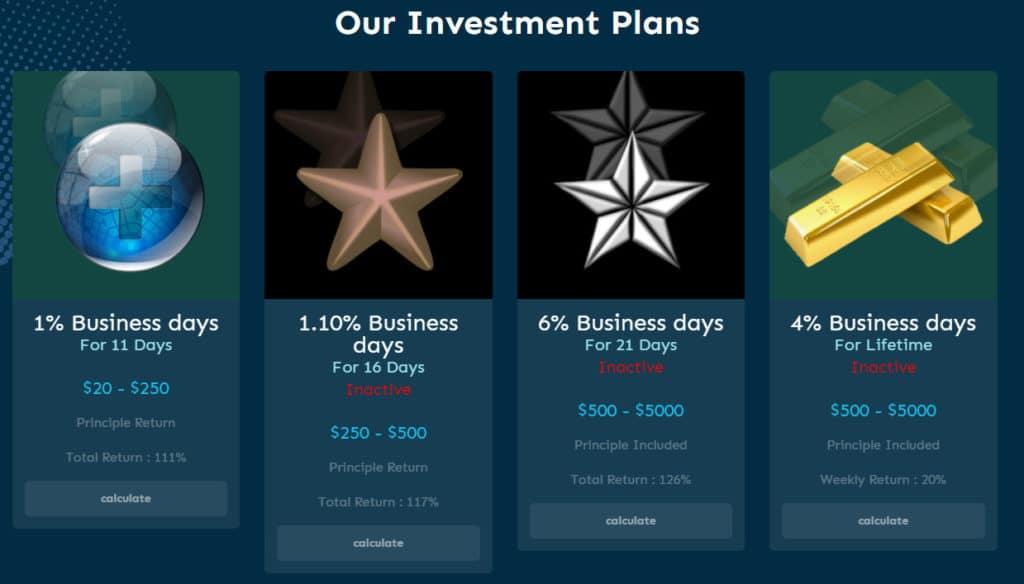 lighting profit investment plans 1024x584 - [SCAM] Lighting Profit: Lợi nhuận 1%/ ngày trong 11 ngày làm việc!