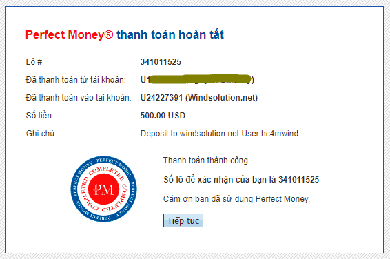 wind solution payment proof - [SCAM] Wind Solution HYIP - Review: Lợi nhuận 2%/ ngày trong 15 ngày!