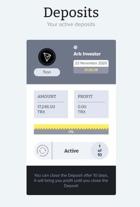 crypto arb payment proof - [SCAM - DỪNG ĐẦU TƯ] Crypto-ARB: Lợi nhuận từ 1.21% mỗi ngày. Cho rút vốn sớm sau 10 ngày!