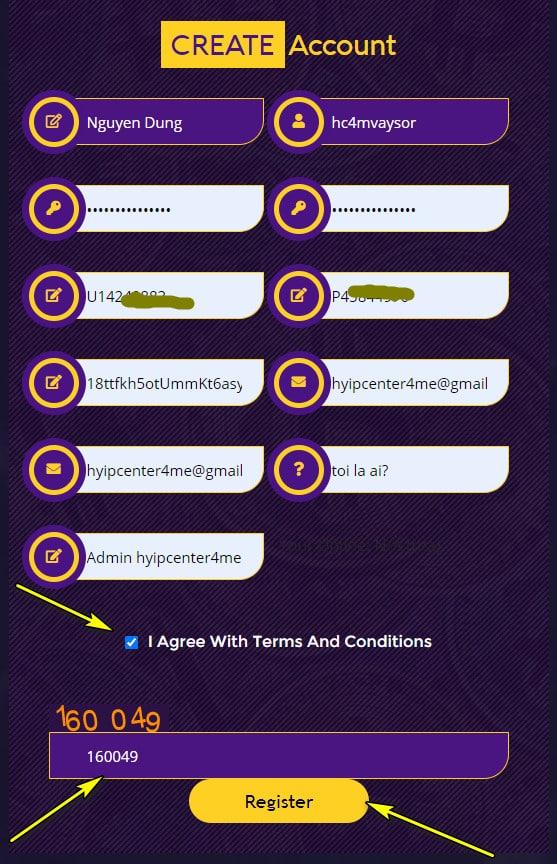 vaysor register account - [SCAM - DỪNG ĐẦU TƯ] Vaysor Review - HYIP: Lợi nhuận 3.5% mỗi ngày, nhận mãi mãi!