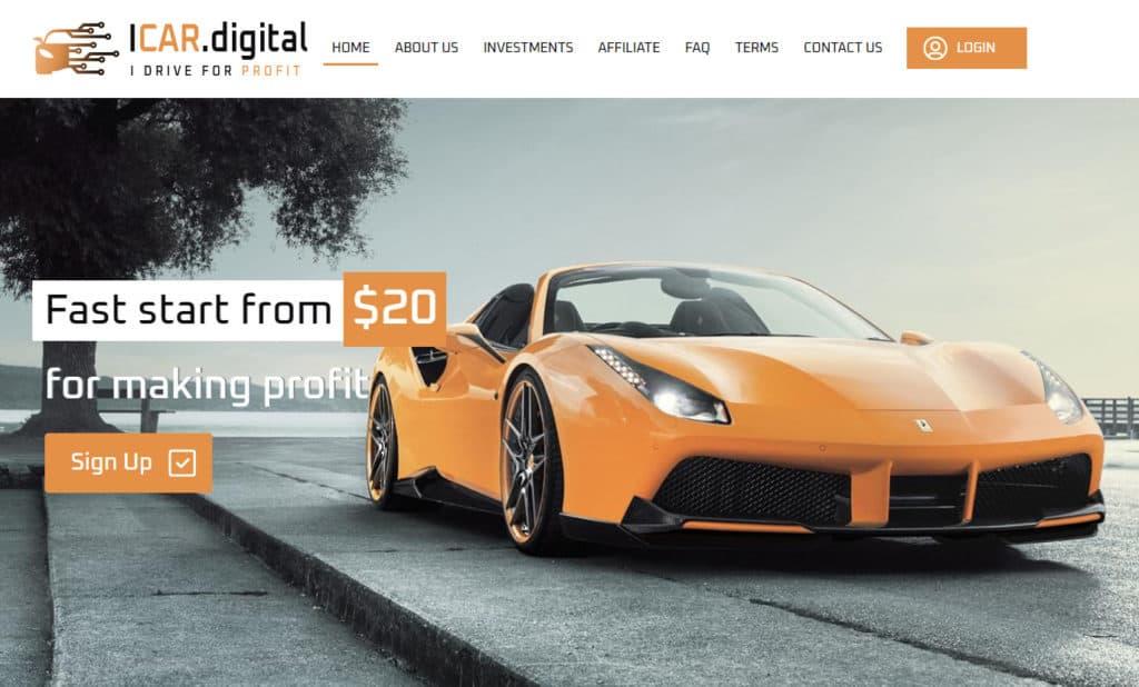icar digital review 1024x618 - HC4M Club: Báo cáo HYIP tổng hợp tuần số W.01/21 từ ngày 28/12 đến 03/01/2021