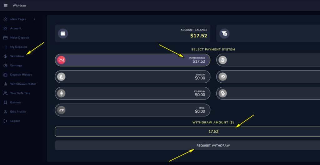 asolis withdraw 1024x529 - [SCAM - DỪNG ĐẦU TƯ] Asolis: Lợi nhuận 1.5% mỗi ngày - mãi mãi, cho rút vốn sau 30 ngày!