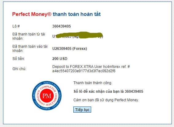 forex xtra payment proof - [SCAM - DỪNG ĐẦU TƯ] FOREX XTRA Review - HYIP: Lợi nhuận 3% hàng ngày và mãi mãi!