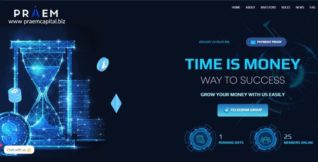 praem capital banner review 1024x521 - [SCAM - DỪNG ĐẦU TƯ] Praem Capital: Lợi nhuận 4% hàng ngày và mãi mãi