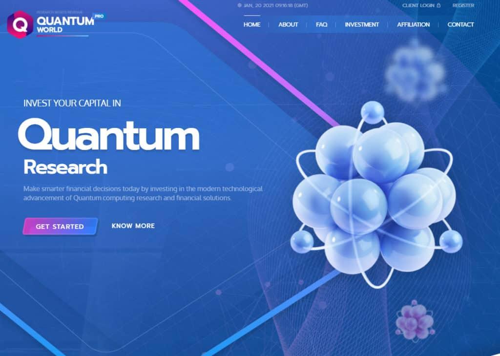quantum review 1024x729 - HC4M Club: Báo cáo HYIP tổng hợp tuần số W.04/21 từ ngày 18/01 đến 24/01/2021