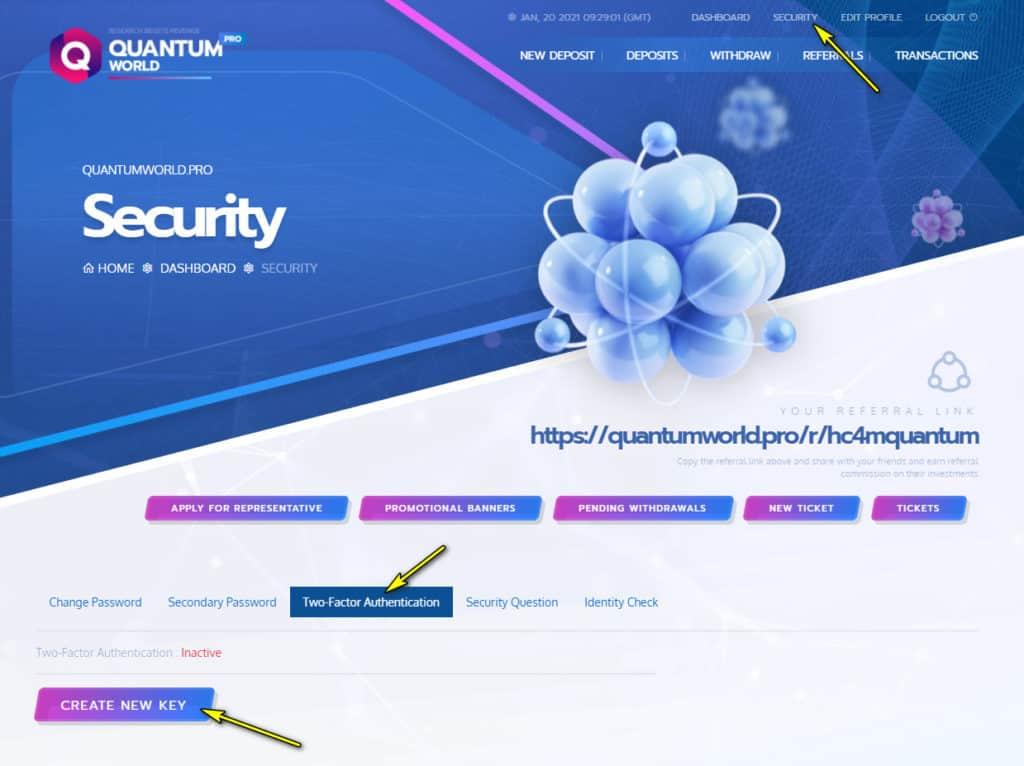 quantum world security 1 1024x766 - [SCAM - DỪNG ĐẦU TƯ] Quantum World: Lợi nhuận 4% mỗi ngày, rút vốn sau 24 giờ!
