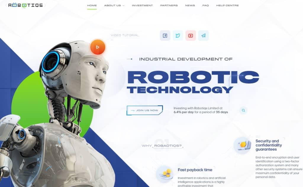 robot iqs review 1024x634 - HC4M Club: Báo cáo HYIP tổng hợp tuần số W.04/21 từ ngày 18/01 đến 24/01/2021
