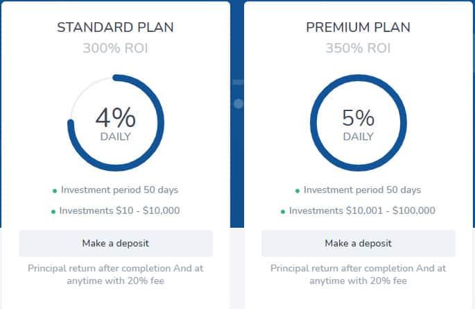 infinily investment plans - [SCAM - DỪNG ĐẦU TƯ] Infinily: Lợi nhuận 4%/ ngày trong 50 ngày, rút vốn bất kì với phí -20%