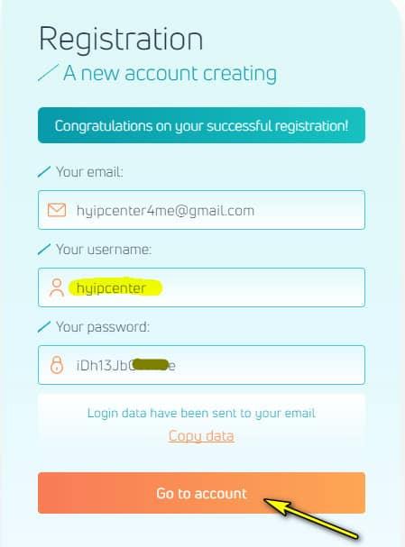 neavar register account 1 - [SCAM - DỪNG ĐẦU TƯ] Neavar: Lợi nhuận lên tới 4.7% hàng ngày và mãi mãi