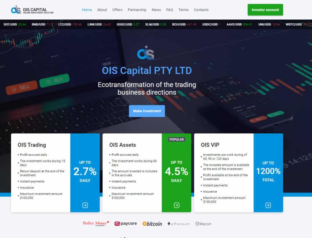 ois capital hyip 1024x781 - [SCAM - DỪNG ĐẦU TƯ] OIS Capital: Lợi nhuận lên tới 2.7% mỗi ngày trong 15 ngày!