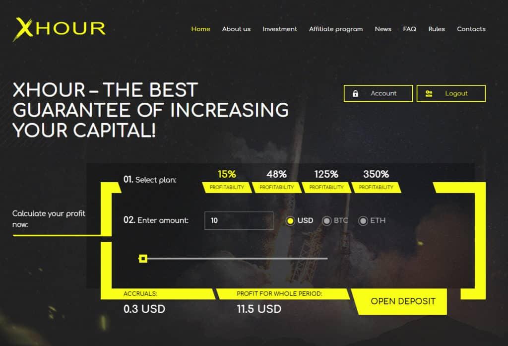 xhour review 1024x697 - [SCAM - DỪNG ĐẦU TƯ] XHour: Lợi nhuận 3% hàng ngày trong 5 ngày!