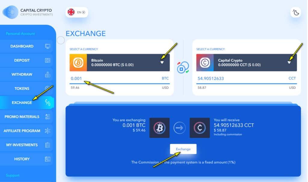 capital c exchange 1024x605 - [SCAM - DỪNG ĐẦU TƯ] Capital C: Lợi nhuận lên đến 3.28%/ngày - mãi mãi
