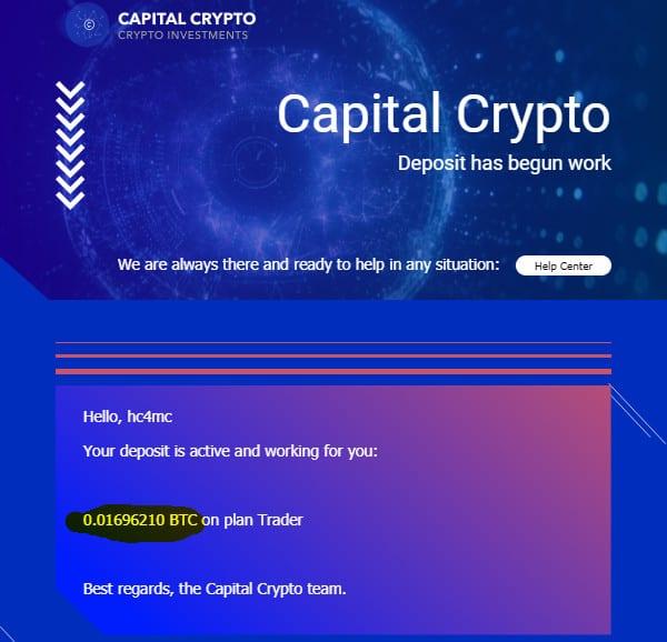 capital c payment - [SCAM - DỪNG ĐẦU TƯ] Capital C: Lợi nhuận lên đến 3.28%/ngày - mãi mãi