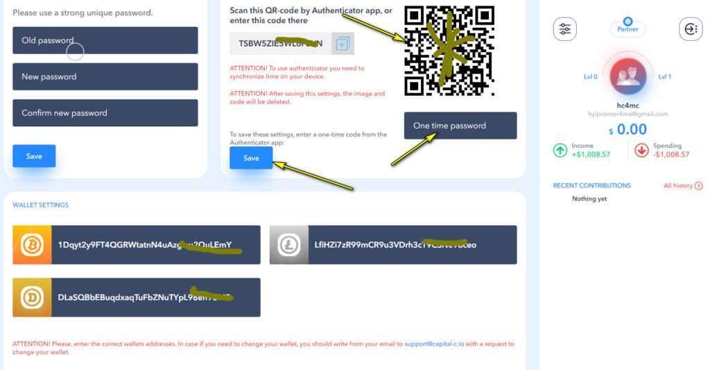 capital c security 1024x533 - [SCAM - DỪNG ĐẦU TƯ] Capital C: Lợi nhuận lên đến 3.28%/ngày - mãi mãi