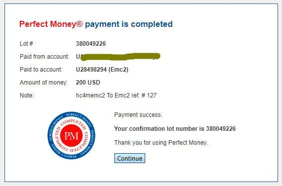 ecm2 capital payment - [SCAM - DỪNG ĐẦU TƯ] EMC2 Capital: Lợi nhuận 3% hàng ngày - mãi mãi