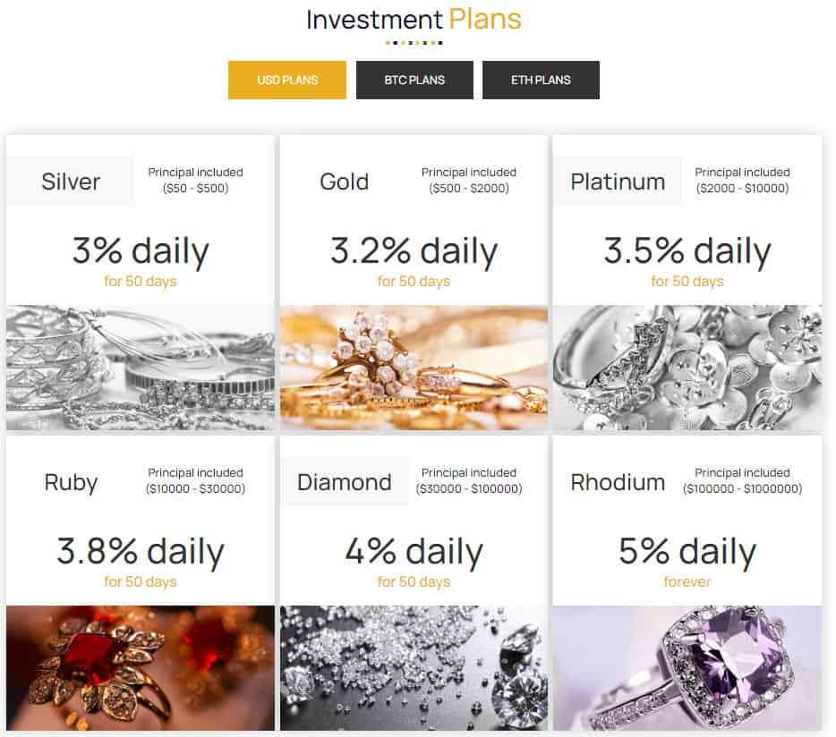mix jewelry investment plans - [SCAM - DỪNG ĐẦU TƯ] Mix Jewelry: Dự án đồ trang sức, lợi nhuận lên tới 4%/ngày trong 50 ngày