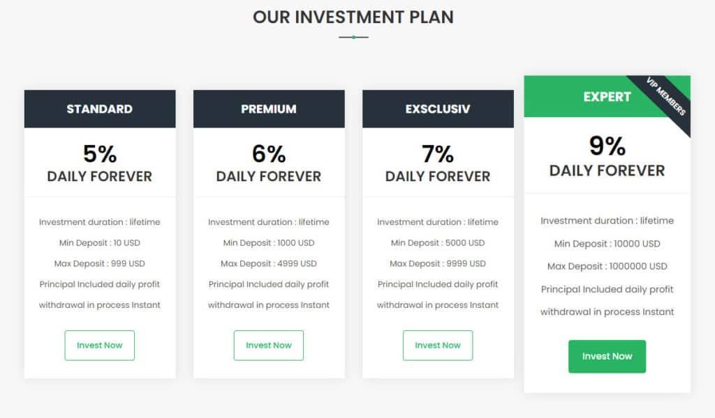 teros investment plans 1024x600 - [SCAM - DỪNG ĐẦU TƯ] Teros: Lợi nhuận 5% hàng ngày - mãi mãi. Hoàn trả 3% + bảo hiểm 1,000$