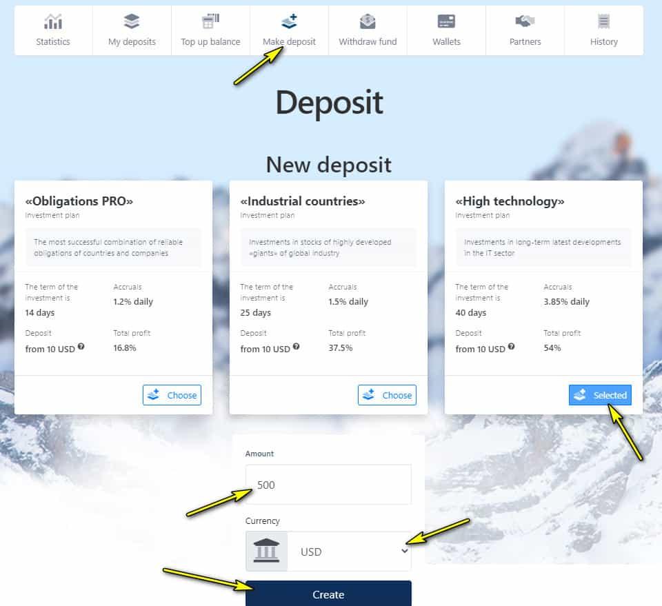 bipipay deposit - [SCAM - DỪNG ĐẦU TƯ] Bipipay: Lợi nhuận 3.85%/ ngày trong 40 ngày. Hoàn trả 3% tiền gửi + bảo hiểm 1,000$