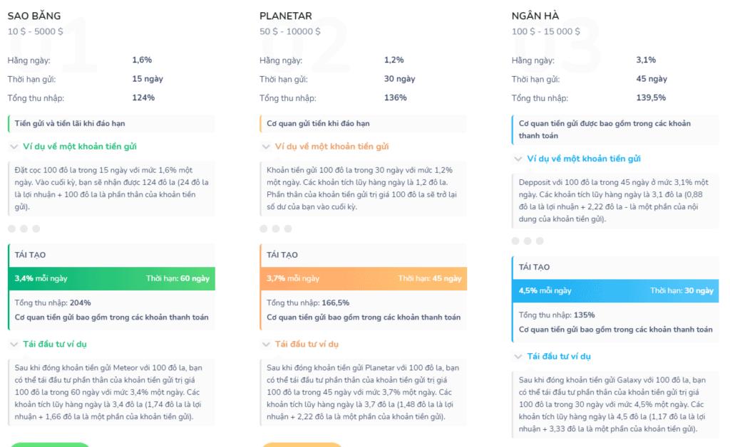 evercont investment plans 1024x628 - [SCAM - DỪNG ĐẦU TƯ] Evercont: Dự án đầu tư hấp dẫn, lợi nhuận lên tới 3.1%/ ngày!