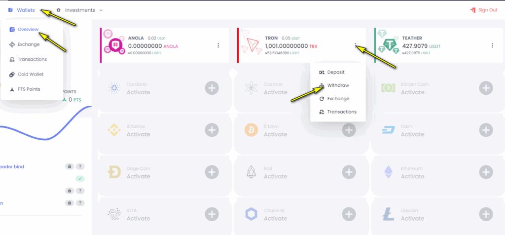 anola withdraw 1024x476 - ANOLA là gì? Hướng dẫn kiếm lời lên tới 30%/ tháng cùng Anola.io!