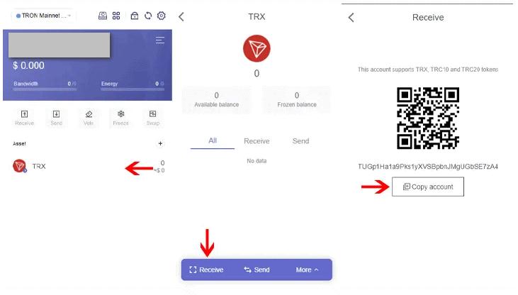 tronlink receive - TronLink là gì? Hướng dẫn tạo tài khoản và sử dụng ví TronLink an toàn