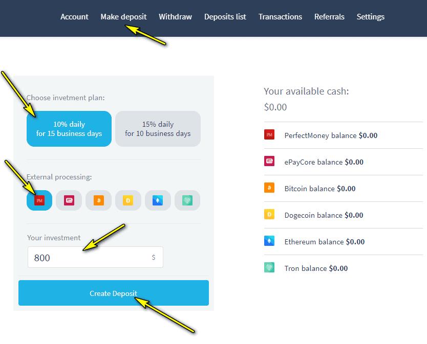 twinance deposit - [SCAM - DỪNG ĐẦU TƯ] Twinance: Dự án cho vay P2P, nhận 10%/ ngày. Hoàn trả 3% tiền gửi + bảo hiểm 2,000$