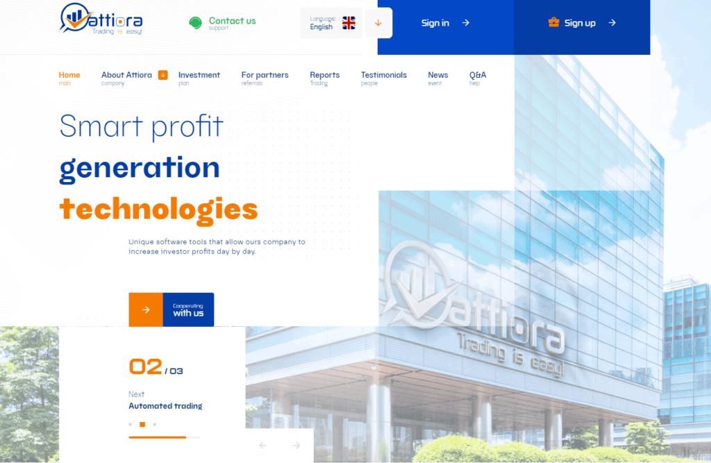 attiora review 1024x667 - [NGỪNG PHÁT TRIỂN] Attiora: Dự án đầu tư từ Australia, lợi nhuận lên tới 3%/ ngày. SCAM or LEGIT?