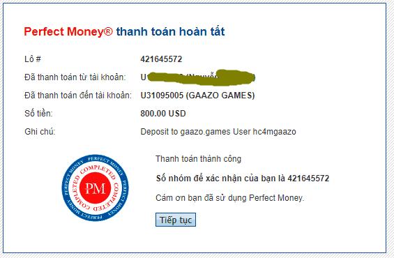 gaazo game payment - [SCAM - DỪNG ĐẦU TƯ] Gaazo Games: Lợi nhuận 3.3%/ ngày - mãi mãi. Hoàn trả 140% hoa hồng - Bảo hiểm 2,000$